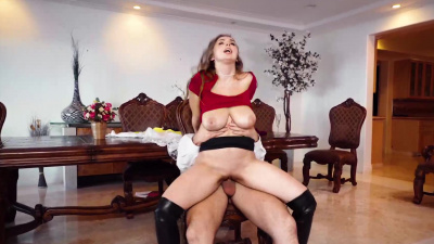 Wedding planner Lena Paul gets dicked & filled with cream by the groom