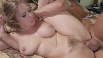 Lena Paul lures the new gardener to fuck her all over the house