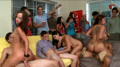 Horny babes know how to keep the party rocking all day