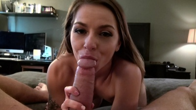 Alana Summer sucking and fucking stranger's dick to rebound her bf