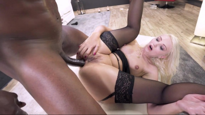 Elegant Helena Moeller loves big black cock deep in her backdoor