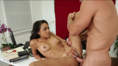Guilliana Alexis getting her professir's big cock in her wet pussy