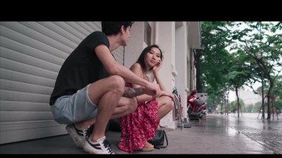 Asian beauty Luna X has nothing more interesting to do than fuck on a rainy day