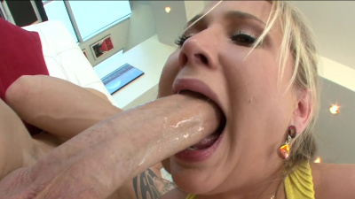 Alanah Rae makes a guy blast a huge load of cum inside her pussy