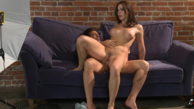 Chanel Preston makes love on the couch