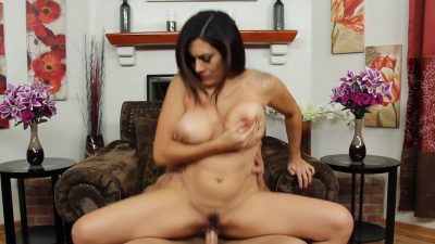 Stacked milf Raylene uses her new employee for sex