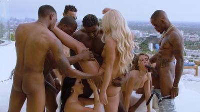 Teanna Trump and her friends interracial orgy