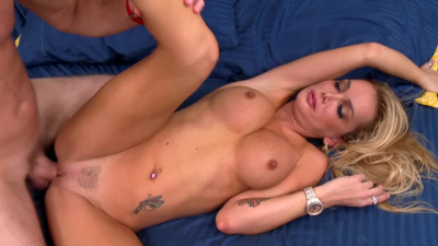 Stacked milf Devon going off on eager cock