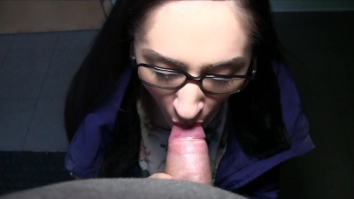 Aruna Aghora picked up on the street fucks & swallows cum for money
